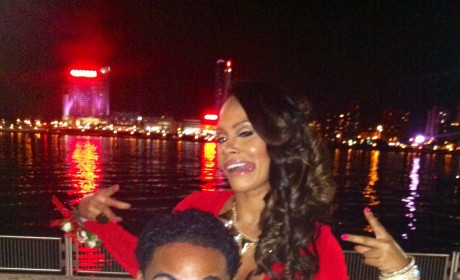 Evelyn Lozada Attends Prom with Michigan Senior