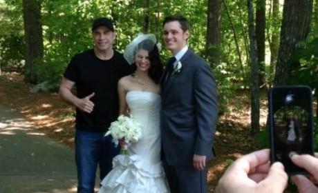 John Travolta Crashes Wedding in Georgia