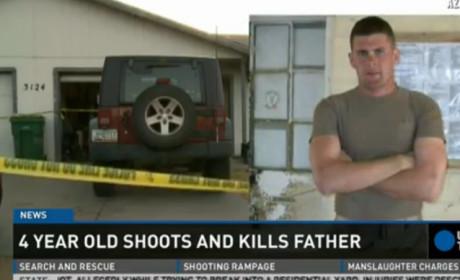 4-Year Old Shoots, Kills Father in Arizona