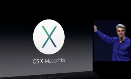 WWDC 2013: OS X Mavericks Unveiled By Apple