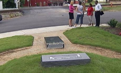 Obama Monument Toppled in Georgia
