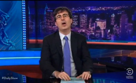 John Oliver as Daily Show Host: Grade Him!