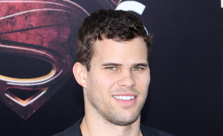 Kris Humphries at Man of Steel Premiere