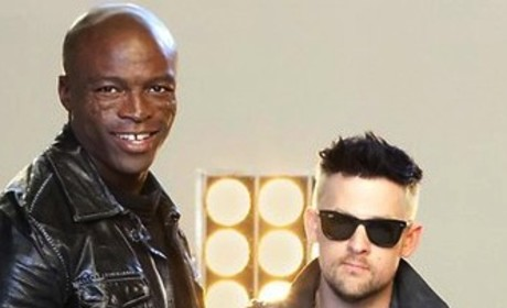 Seal and Joel Madden