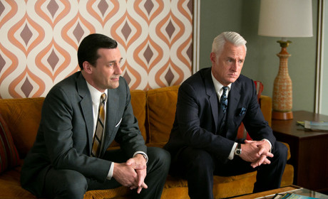 Don and Roger Mad Men