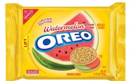 Watermelon Oreos