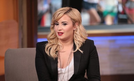 Demi Lovato on Good Morning America