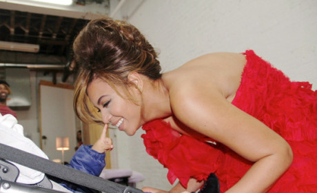 Beyonce and Blue Ivy Picture