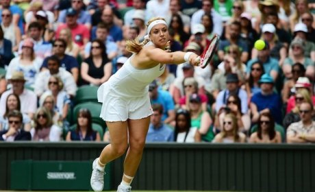 Sabine Lisicki Shocks Serena Williams, Advances at Wimbledon