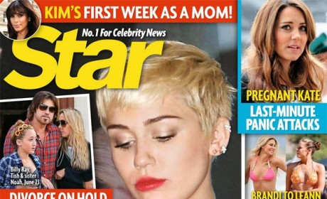 "Miley Cyrus: Battling a ""Secret Drug Problem?"""