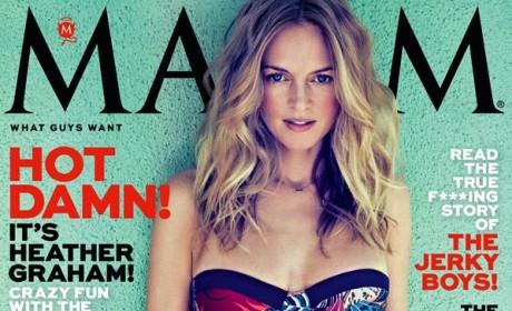 Heather Graham Maxim Cover