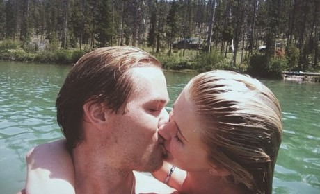 Slater Trout Kissing Ireland Baldwin
