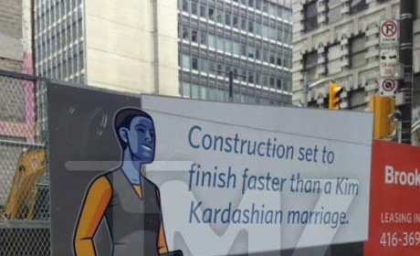 Canadian Construction Company Mocks Kim Kardashian Marriage