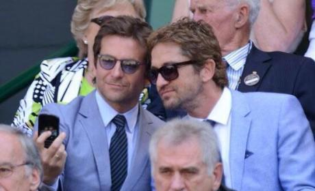 Gerard Butler and Bradley Cooper