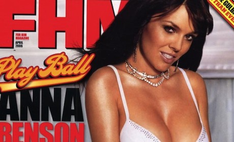 Anna Benson FHM Cover