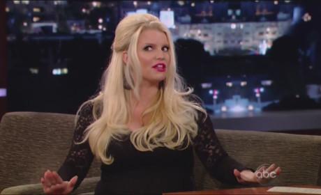 Jessica Simpson on Jimmy Kimmel