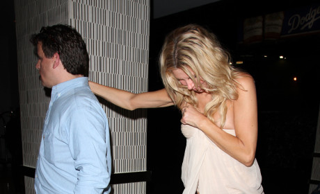 Brandi Glanville Drunk Photo