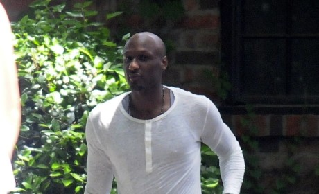 Lamar Odom Walking