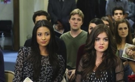 Lucy Hale to Quit Pretty Little Liars Over Feud with Co-Star?