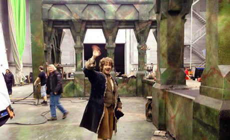 Martin Freeman Waves Goodbye to Bilbo Baggins