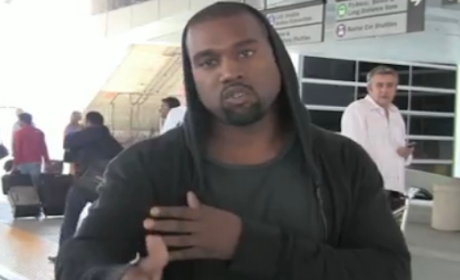 Kanye West: Felony Suspect in LAX Photographer Smackdown