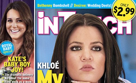 Khloe Kardashian In Touch Cover