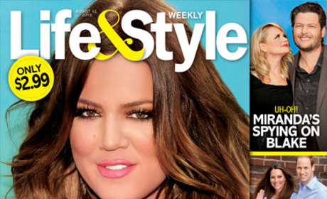Khloe Kardashian Tabloid Picture