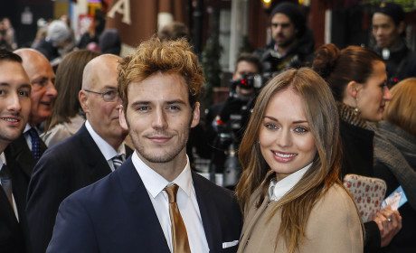 Laura Haddock and Sam Claffin