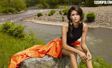 Nina Dobrev Cosmopolitan Pic