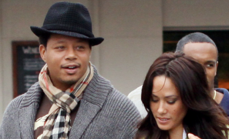 Michelle Ghent Granted Restraining Order Against Terrence Howard, Shows Black Eye in Court