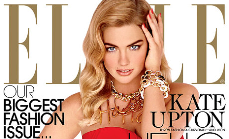 Kate Upton Elle Cover, Photos & Video: Revealed! Stunning!