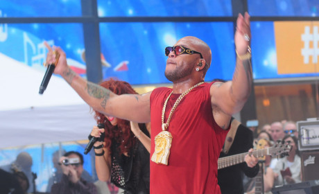 Flo Rida Jesus Necklace