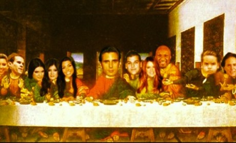 Scott Disick Last Supper Pic