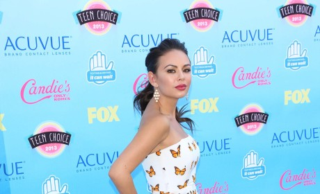 Janel Parrish at the Teen Choice Awards