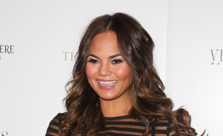 Chrissy Teigen, All Smiles