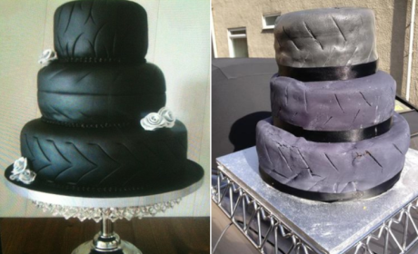 """Woman Tries to Sell Wedding Cake """"Disaster"""" on eBay"""