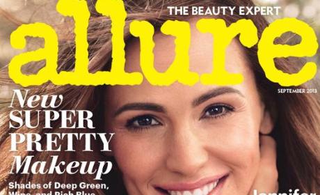 Jennifer Garner Allure Cover: The Action Babe Next Door