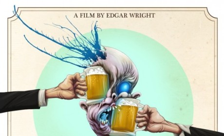 The World's End Poster: I'll Toast to That!