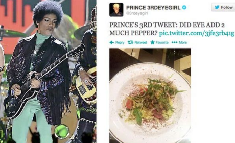 Prince Joins Twitter, Posts Photo of Salad, Does Not Know What Selfie Means