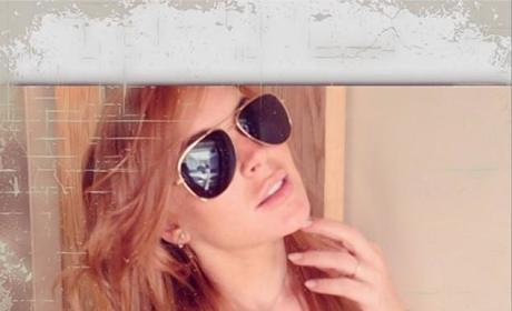 Lindsay Lohan Selfie Instagram