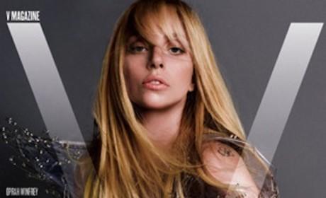 Lady Gaga V Magazine Cover Photo