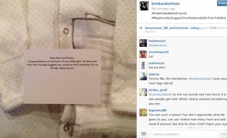 Kim Kardashian Unloads on Katie Couric: Fake $hit Talker!