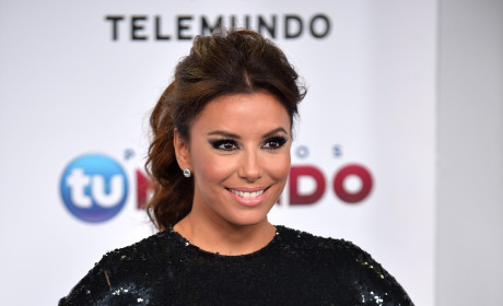Eva Longoria in Black