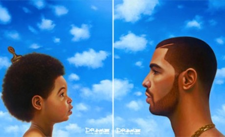 "Drake ""Nothing Was the Same"" Album Cover: Is That Blue Ivy?"