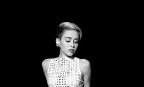 Miley Cyrus Notion Pics: Underwear Alert!