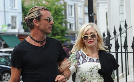 Gwen Stefani with Gavin Rossdale
