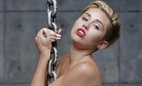 Miley Cyrus Wrecking Ball Image