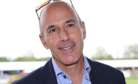 Relaxed Matt Lauer