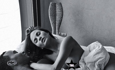 Chrissy Teigen: Topless on Instagram, in Bed with John Legend!!