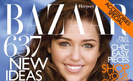 Old Miley Cyrus Harper's Bazaar Cover